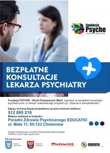 Bezpłatne konsultacje psychizatryczne