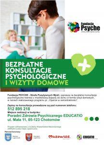 Bezpłatne konsultacje psychologiczne